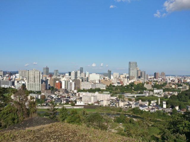 Overlooking Sendai